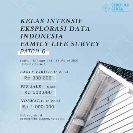 Kelas Intensif Eksplorasi Data Indonesia Family Life Survey (IFLS ) Batch 6