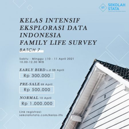 Kelas Intensif Eksplorasi Data Indonesia Family Life Survey (IFLS ) Batch 7(DITUTUP)